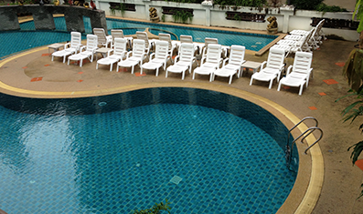 游泳池防水